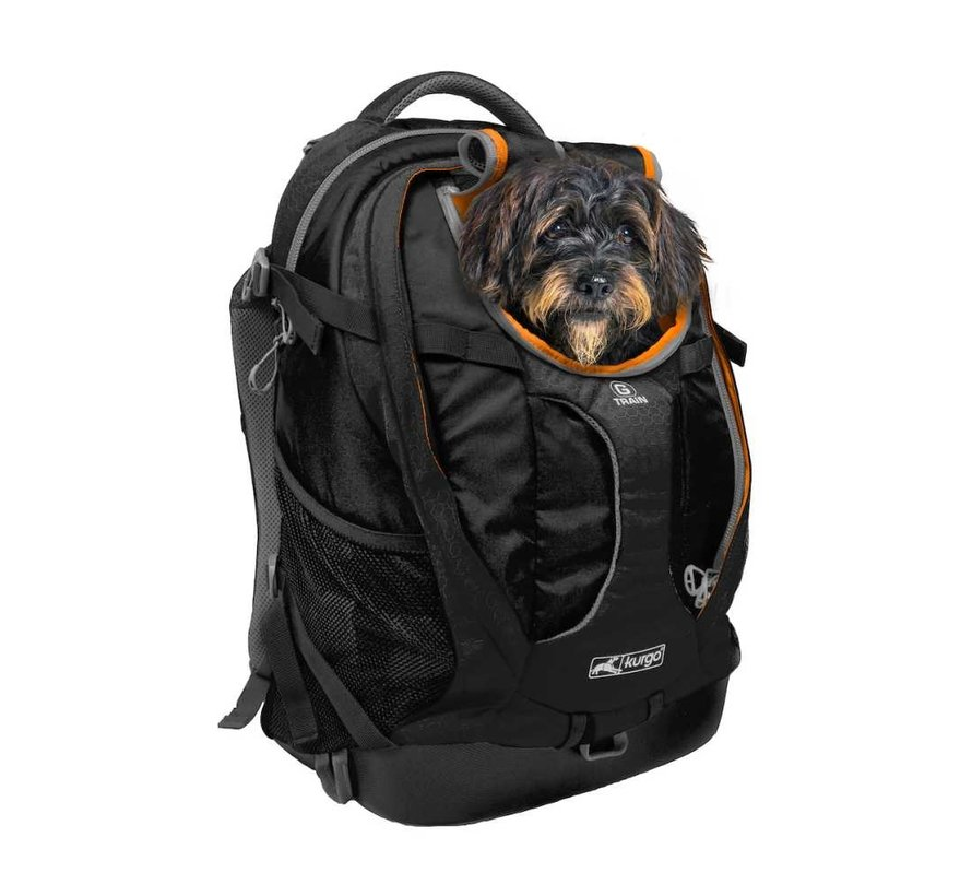 Dog Backpack G-Train K9  Black