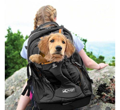 Kurgo Dog Backpack G-Train K9  Black
