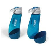 Kurgo Water Bottle Gourd Blue
