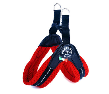 Tre Ponti Dog Harness Easy Fit Mesh Red