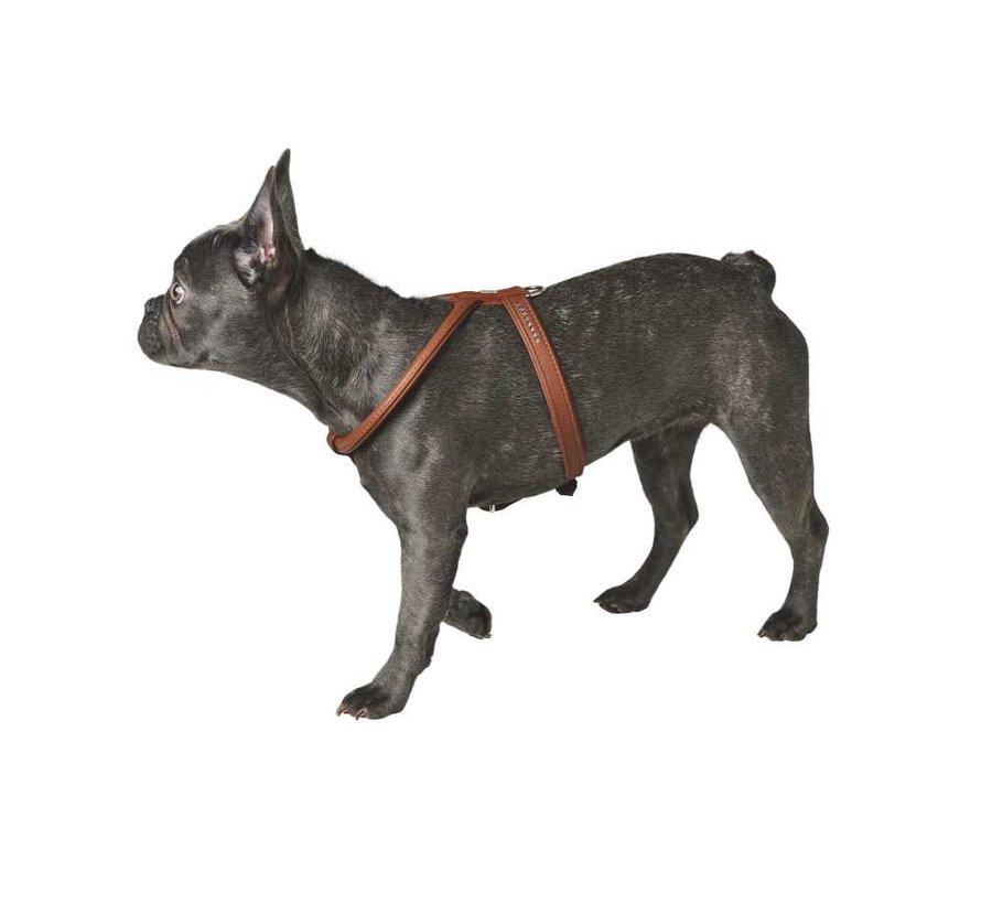 Dog Harness Elk Petit Cognac