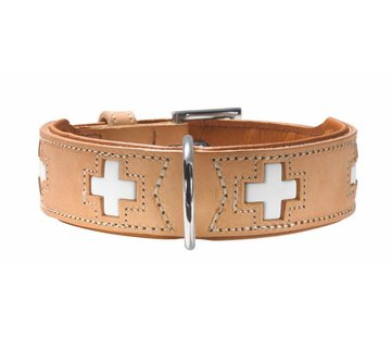 Hunter Dog Collar Swiss Beige