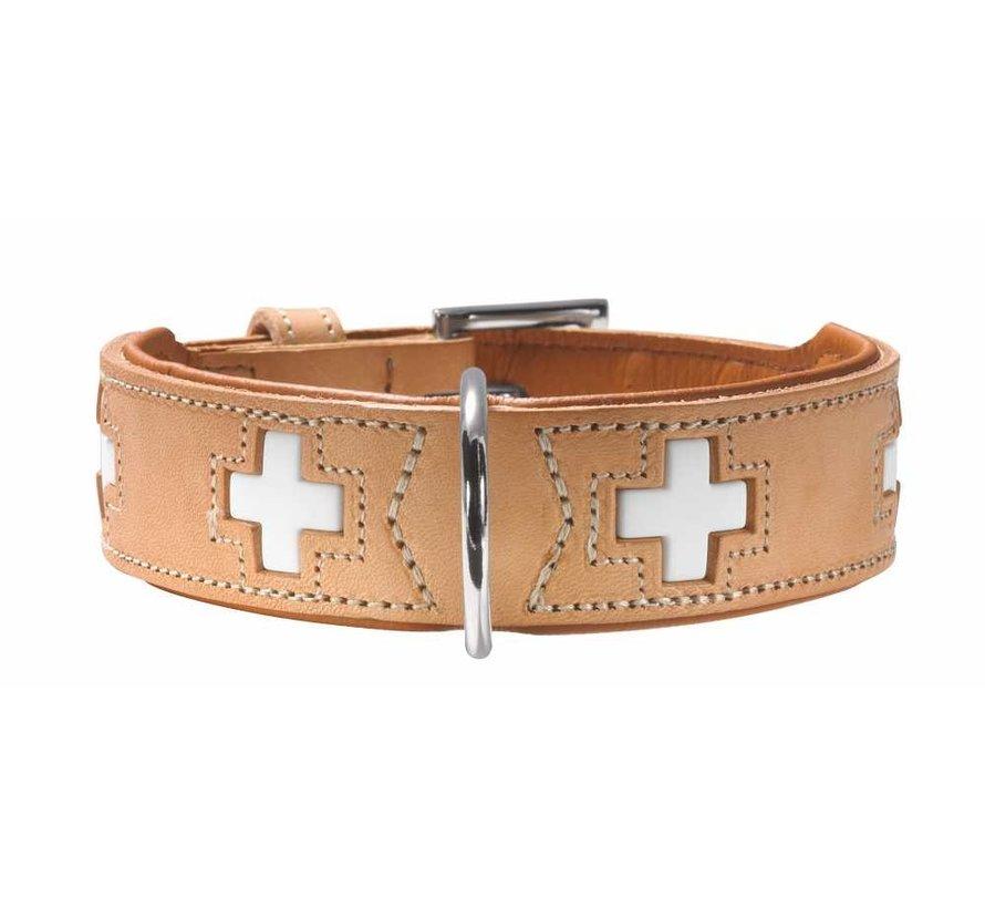 Hondenhalsband Swiss Beige