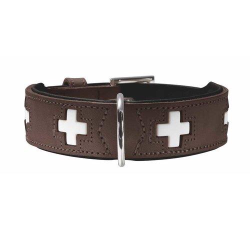 Hunter Dog Collar Swiss Brown