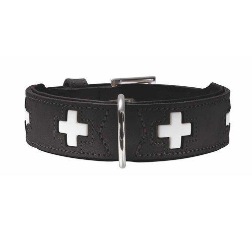 Hunter Dog Collar Swiss Black