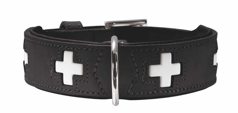 Hondenhalsband Swiss Zwart
