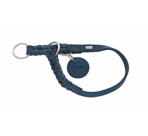 Hunter Sliphalsband Hond Solid Education Blauw