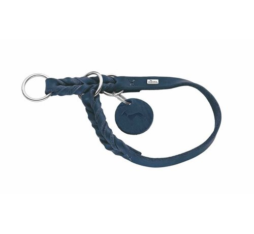 Hunter Training Halsband Hond Solid Education Blauw