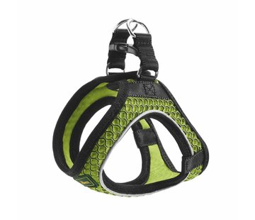 Hunter Dog Harness Hilo Comfort Lime