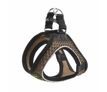 Hunter Dog Harness Hilo Comfort Brown