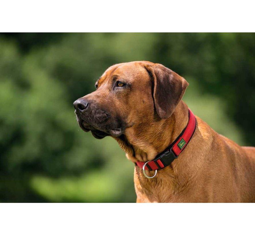 Hondenhalsband Neopreen Vario Plus Rood