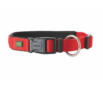 Hunter Dog Collar Neoprene Vario Plus Red