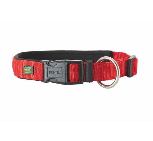 Hunter Dog Collar Neoprene Vario Plus Red