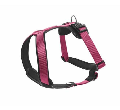 Hunter Dog Harness Neoprene Raspberry
