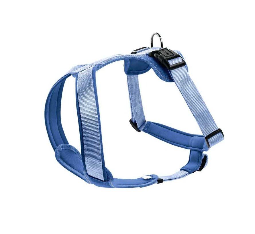 Dog Harness Neoprene Blue