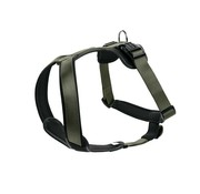 Hunter Dog Harness Neoprene Green