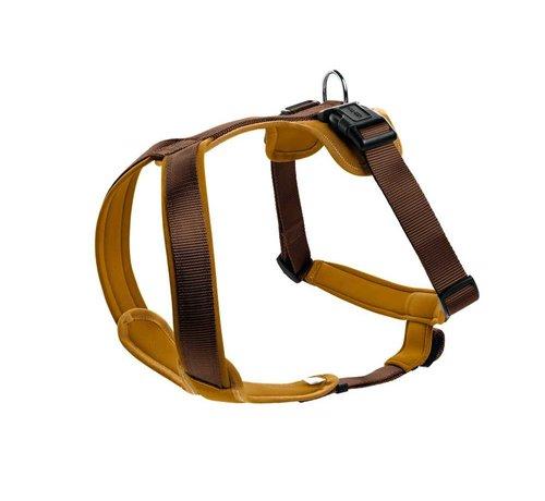 Hunter Dog Harness Neoprene Caramel