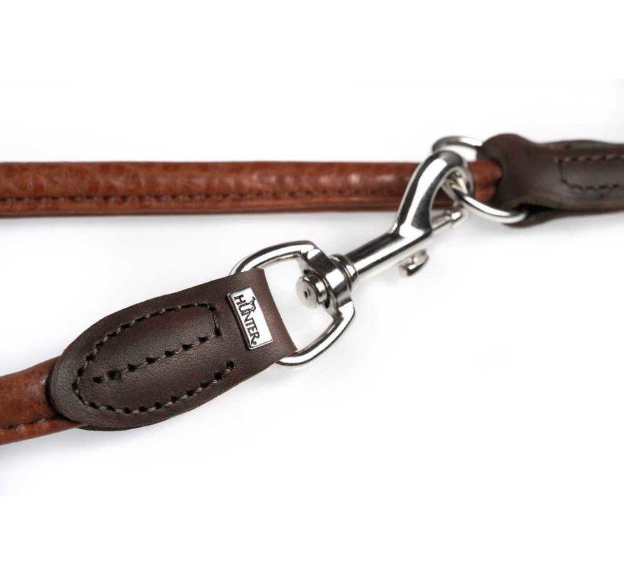 Dog Leash Round & Soft Cody Cognac