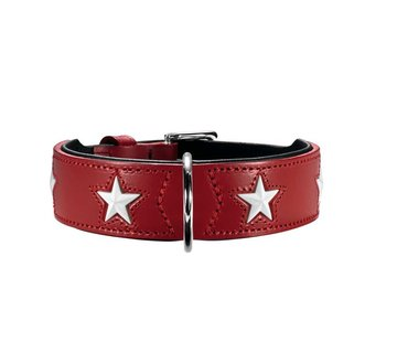 Hunter Dog Collar Magic Star Red
