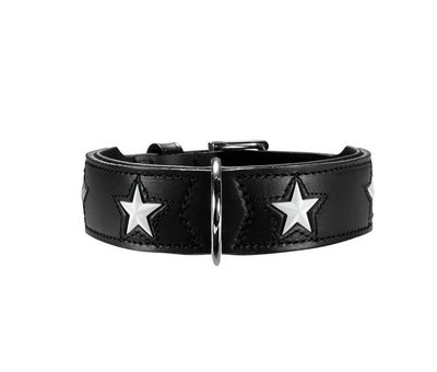Hunter Dog Collar Magic Star Black