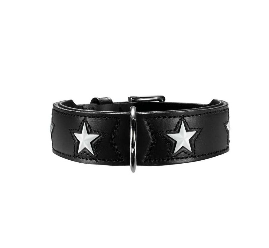 Dog Collar Magic Star Black