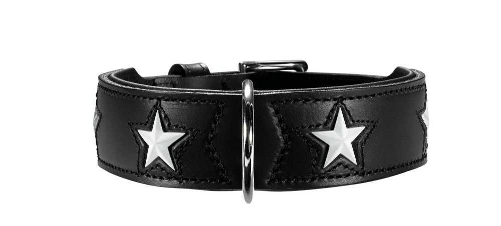 Hondenhalsband Magic Star Zwart