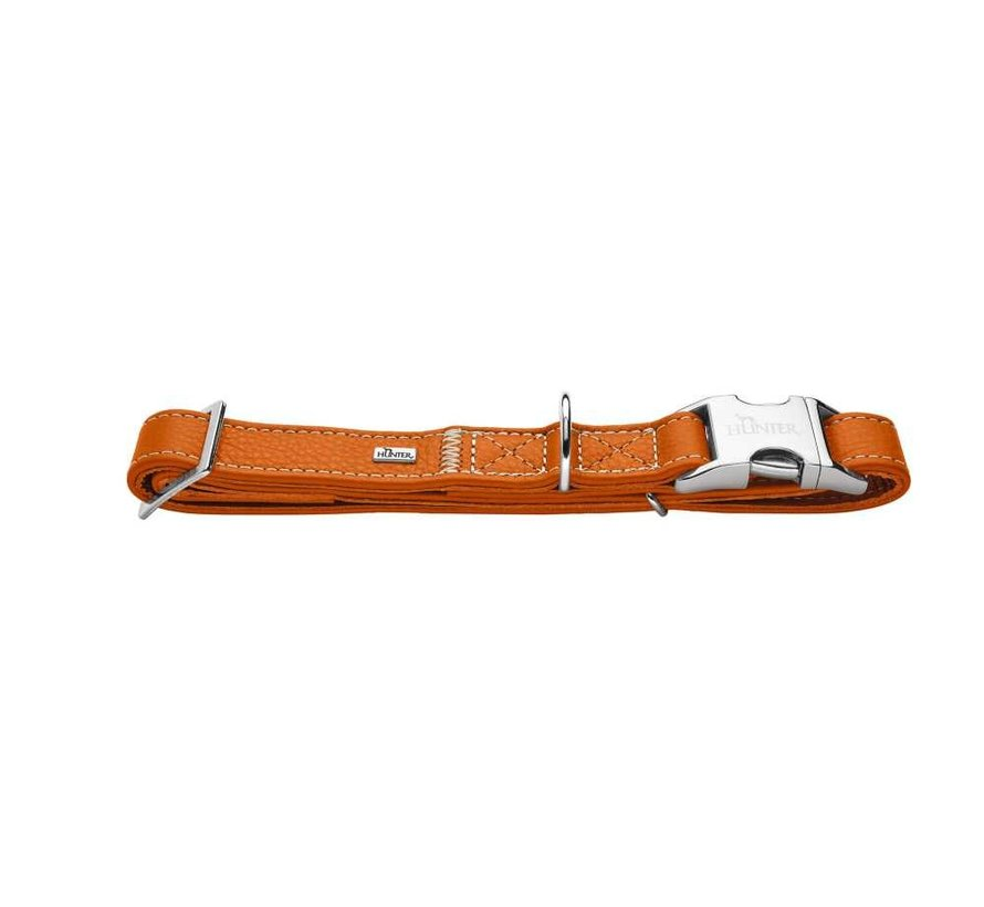 Dog Collar Cannes Alu Strong Orange