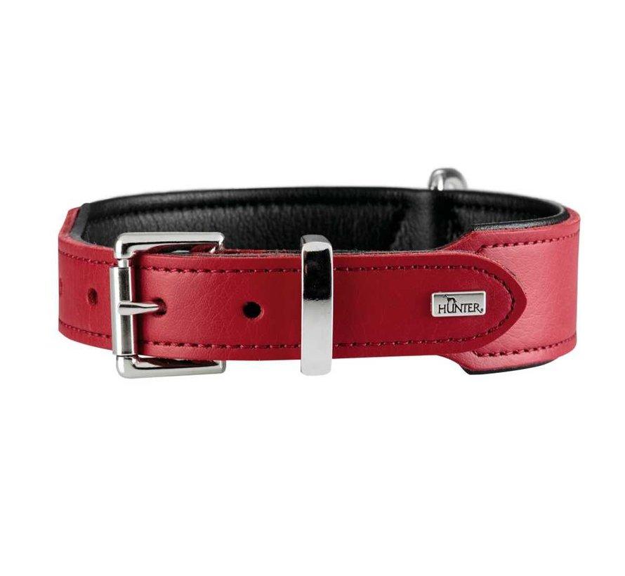 Hondenhalsband Basic Rood
