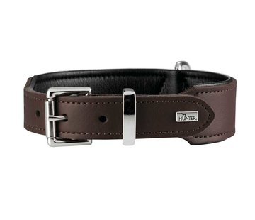 Hunter Dog Collar Basic Brown