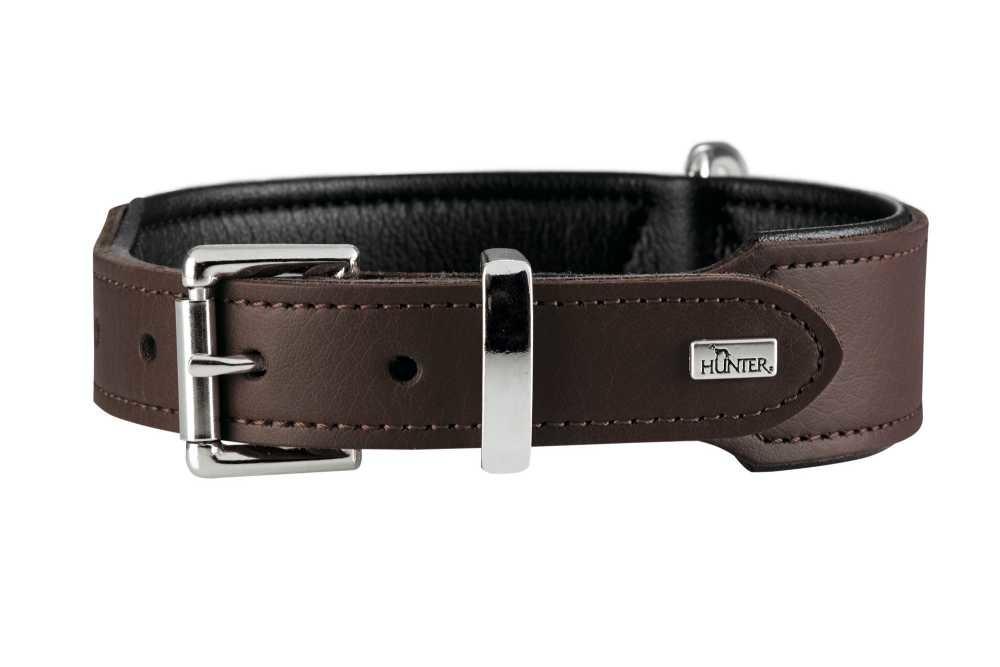Hondenhalsband Basic Bruin