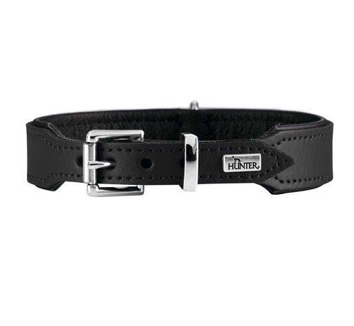 Hunter Hondenhalsband Basic Zwart