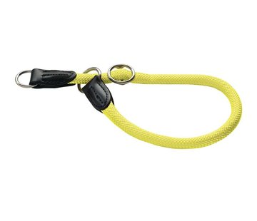 Hunter Sliphalsband Hond Freestyle Neon Geel