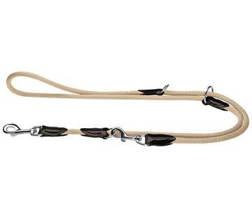Hunter Adjustable Dog Leash Freestyle Beige