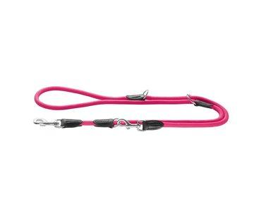 Hunter Verstelbare Hondenriem Freestyle Neon Roze