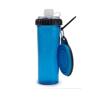 Dexas Snack Duo with travel cup Pro Blue