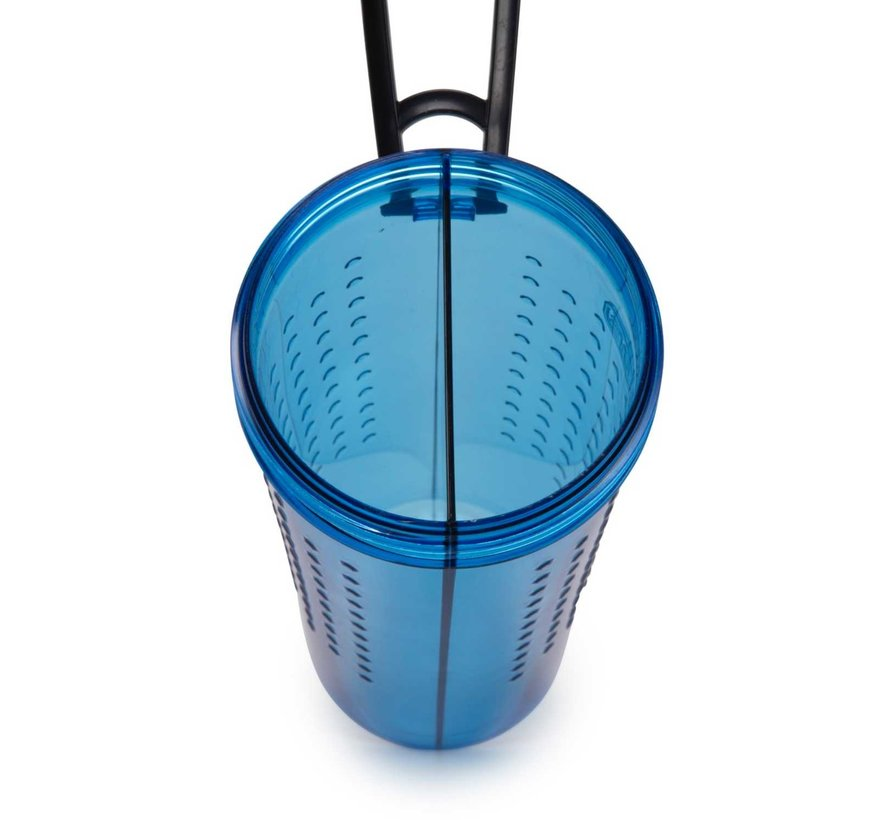 Snack Duo with travel cup Pro Blue