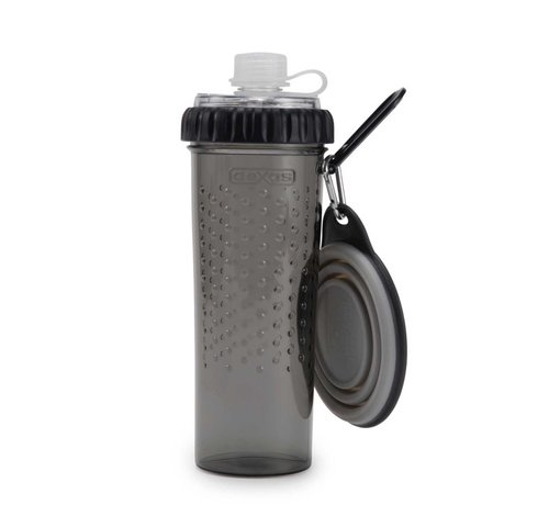 Dexas Snack Duo with travel cup Light Grey