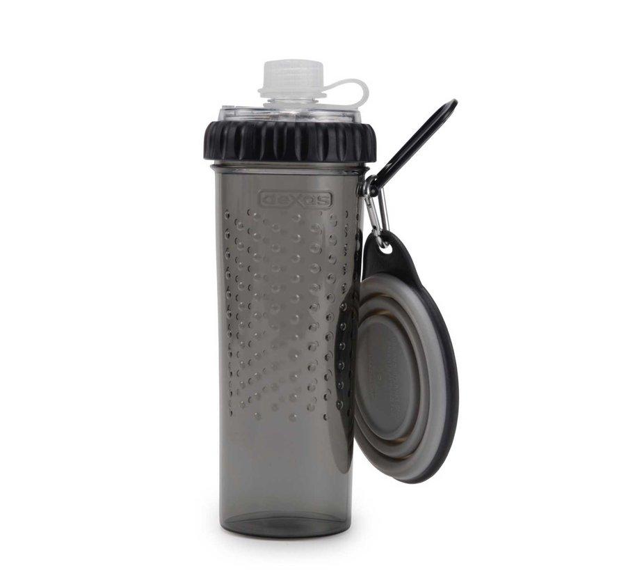 Snack Duo met travel cup Light Grey