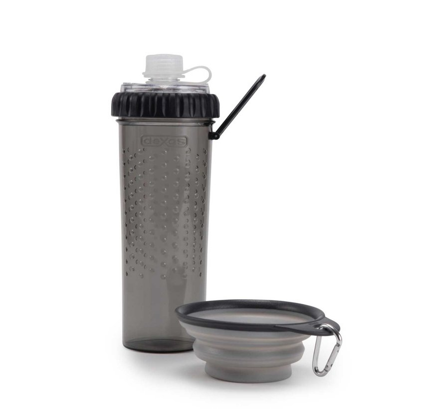 Snack Duo with travel cup Light Grey
