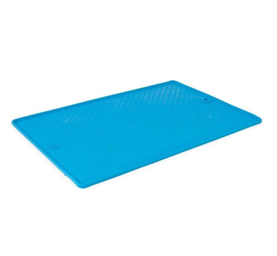 Pet Bowl Grippmat Pro Blue