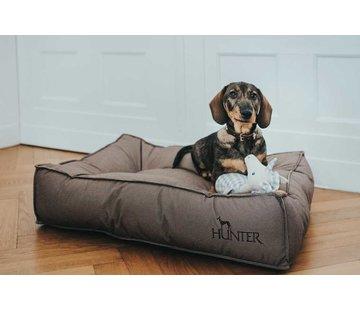 Hunter Dog Cushion Lancaster Brown