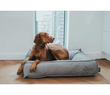 Hunter Dog Cushion Lancaster Grey