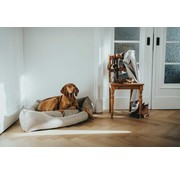 Hunter Dog Bed Corner Livingstone Beige