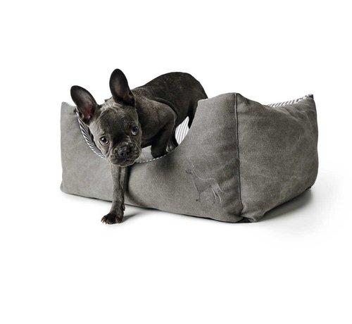 Hunter Dog Bed Palma Grey