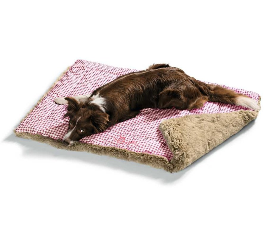 Dog Blanket Astana Red