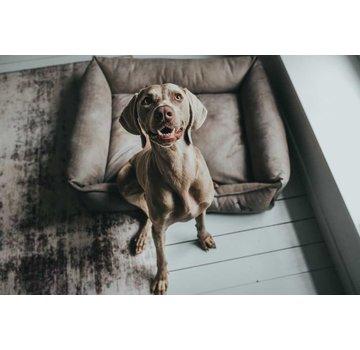 Hunter Hondenmand Kunstleer Bologna Stone