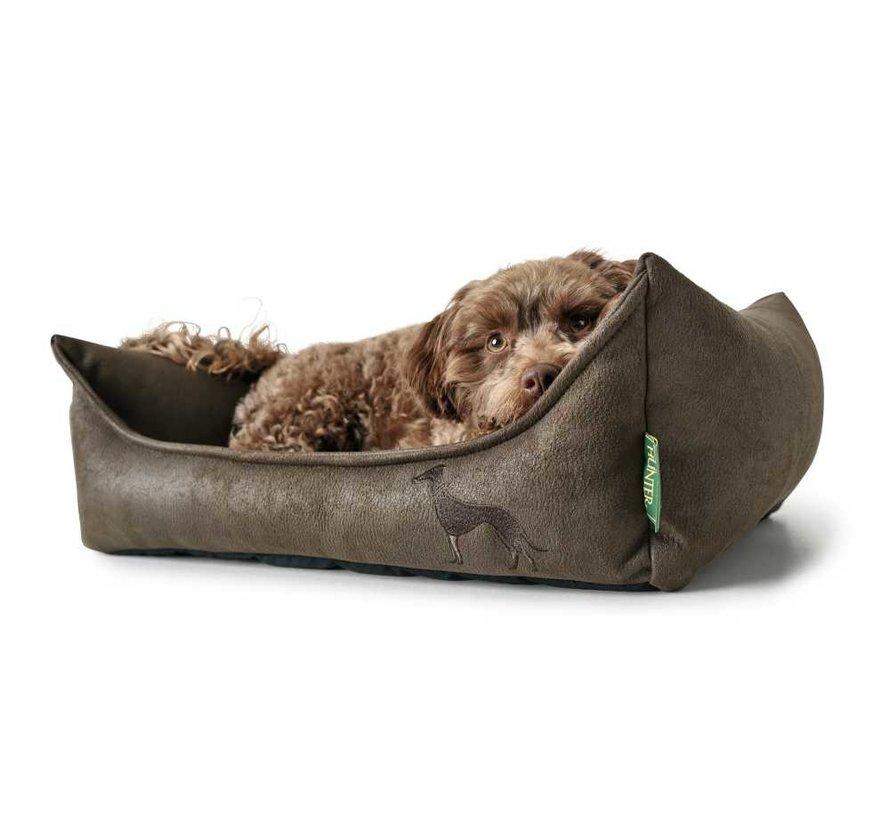 Hondenmand Kunstleer Bologna Bruin