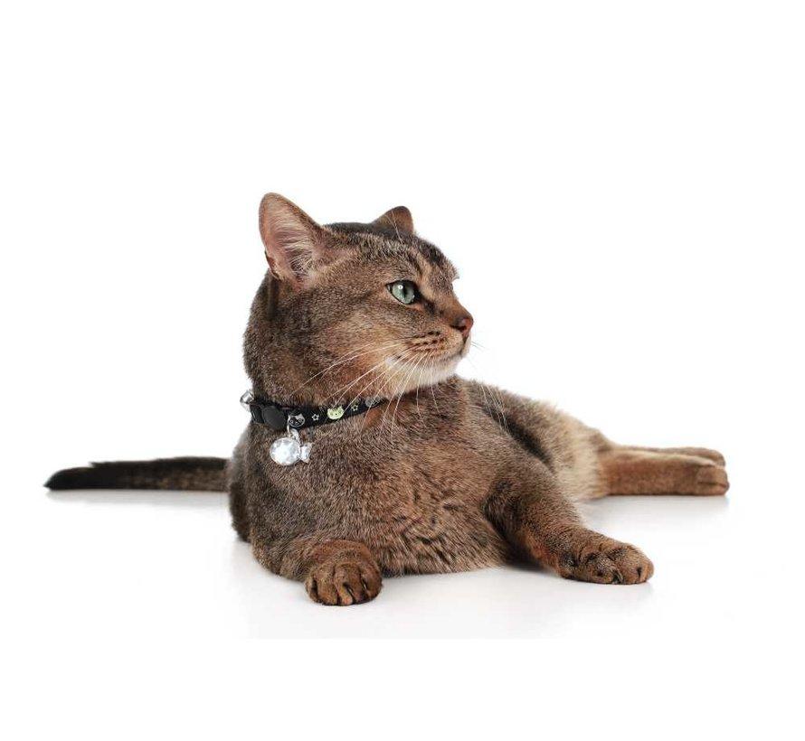 Cat Collar Krokom Black