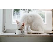 Hunter Cat Bowl Milos White