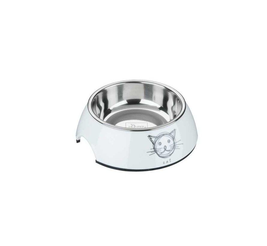 Cat Bowl Milos White